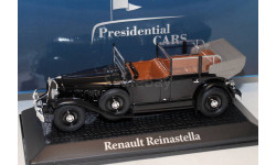 RENAULT Reinastella президента Франции Альбера Лебрена 1936 Black, масштабная модель, scale43