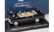 SIMCA Chambord V-8 présidentielle Visite des Kennedy Charles de Gaulle 1961, масштабная модель, scale43, Citroën