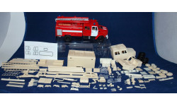 Кит  пожарный ЗИЛ-4331,АЦ-3,2-40(4331-8ВР), сборная модель автомобиля, Конверсии мастеров-одиночек, 1:43, 1/43
