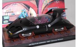 Бетмобиль, Detective Comics #667 (Subway Rocket), масштабная модель, Atlas, scale43