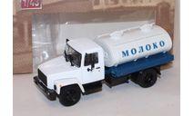 ГАЗ-3307 Г6-ОТА-4,2 (молоко), масштабная модель, ДеаГостини, 1:43, 1/43