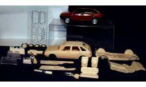 Кит ВАЗ-2109 'длинное крыло', сборная модель автомобиля, Элекон, scale43