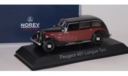 PEUGEOT 401 Longue Taxi 1935 Dark Red/Black