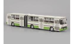 ИКАРУС 280.33М бело-зелёный, с маршрутом, масштабная модель, Classicbus, scale43, Ikarus