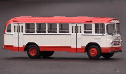 ЛиАЗ 158В красно-белый, масштабная модель, Classicbus, 1:43, 1/43
