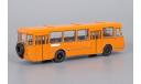 ЛиАЗ 677М оранжевый с запасным колесом, масштабная модель, Classicbus, 1:43, 1/43