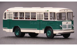 Комплект Масштабная модель 158В бело-зелёный + Масштабная модель 158В красно-белый, масштабная модель, ЛиАЗ, Classicbus, 1:43, 1/43