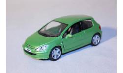 Peugeot 307 XSI, 1:32, Kinsmart, масштабная модель, 1/32
