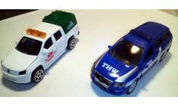 VW Passat (Siku 1:55) и VW Amarok (Majorette 1:64)