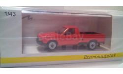 Москвич 2335 красный пикап, масштабная модель, Prommodel43, 1:43, 1/43
