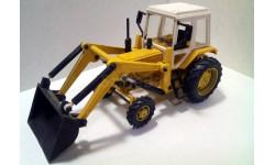 МТЗ-82 Беларусь (Ковш), масштабная модель трактора, Компаньон, 1:43, 1/43