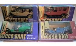 4 Руссо-Балта от Агат одним лотом, масштабная модель, Руссо Балт, Агат/Моссар/Тантал, 1:43, 1/43