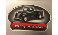 Плимут Plymouth 1941 Truck Пикап 1:43