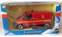Renault Trafic Fire Unit Cararama, масштабная модель, 1:43, 1/43, Bauer/Cararama/Hongwell