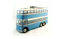 UM43-A5/1 Троллейбус ЯТБ-3 1938 г. (голубой/бежевый)
