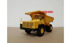 Н0021 БЕЛАЗ-540А самосвал, желтый