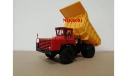 Н0022 БЕЛАЗ-540А самосвал, красный / желтый