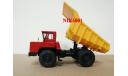 Н0022 БЕЛАЗ-540А самосвал, красный / желтый, масштабная модель, 1:43, 1/43, Наш Автопром