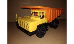 Н0052 БЕЛАЗ-7510 самосвал, желтый / оранжевый