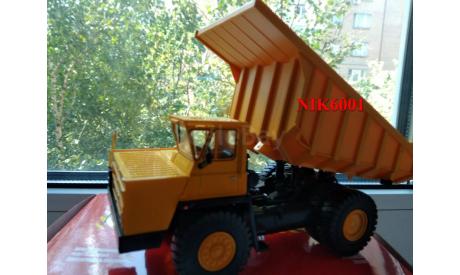Н0061 БЕЛАЗ-7526 желтый, масштабная модель, 1:43, 1/43, Наш Автопром