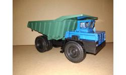 Н0082 БЕЛАЗ-548А самосвал, синий / зеленый