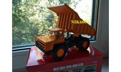 Н0101 БЕЛАЗ-7548 самосвал, желтый, масштабная модель, Наш Автопром, scale43