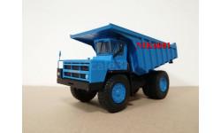 Н0121 БЕЛАЗ-7527 самосвал, синий, масштабная модель, 1:43, 1/43, Наш Автопром