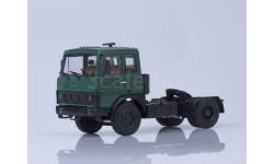 100428 МАЗ-5432 седельный тягач (ранняя кабина, зелёный) /металл. рама, откидывающаяся кабина/