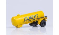 100718 Полуприцеп-цементовоз ТЦ-4, масштабная модель, 1:43, 1/43, Автоистория (АИСТ), ЗИЛ