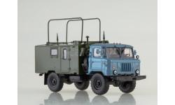 100817 Командно-штабная машина КШМ Р-142Н (ГАЗ-66), масштабная модель, 1:43, 1/43, Автоистория (АИСТ)
