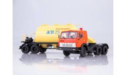 101125 КАМАЗ-54112 с полуприцепом-муковозом АСП-25