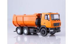 101333.оранж МАЗ-6501 самосвал, U-образный кузов (оранжевый), масштабная модель, 1:43, 1/43, Автоистория (АИСТ)