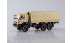 101944 КАМАЗ-43118 6x6 бортовой с тентом