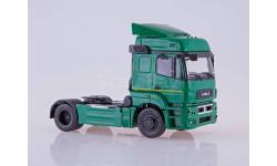 101944 КАМАЗ-5490 седельный тягач (зелёный), масштабная модель, ПАО КАМАЗ, scale43