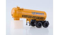 102026 Полуприцеп-цементовоз ТЦ-11, масштабная модель, 1:43, 1/43, Автоистория (АИСТ), КамАЗ