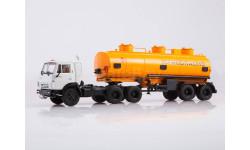 102118 КАМАЗ-54112 с полуприцепом НЕФАЗ-96742, масштабная модель, Автоистория (АИСТ), scale43