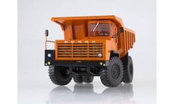 10236 Карьерный самосвал БЕЛАЗ-540А (решётка с 5 поперечинами), оранжевый, масштабная модель, 1:43, 1/43, Дилерские модели БЕЛАЗ