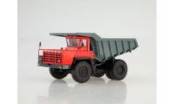 102378 Карьерный самосвал БЕЛАЗ-540А, красный/серый, масштабная модель, Дилерские модели БЕЛАЗ, scale43