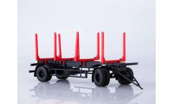 102422 Прицеп МАЗ-83781 сортиментовоз, масштабная модель, Автоистория (АИСТ), scale43