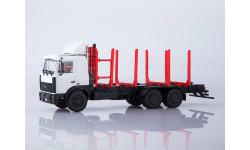102477 МАЗ-6303 сортиментовоз, масштабная модель, 1:43, 1/43, Автоистория (АИСТ)