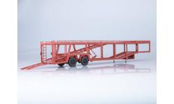 102484 Полуприцеп-автовоз 934410 (А908), масштабная модель, Автоистория (АИСТ), scale43
