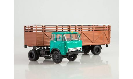 КАЗ-608 с полуприцепом ОДАЗ-857Б 102583, масштабная модель, Автоистория (АИСТ), scale43