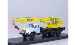 SSM1108 Автокран КС-3575А (на шасси ЗиЛ-133ГЯ), желтый/голубой