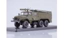 SSM1233 АЦ-40 (Урал-43202) ПМ-102Б (хаки)