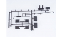 1256KIT Сборная модель Вакуумная машина КО-520 (ЗиЛ-4333), сборная модель автомобиля, 1:43, 1/43, AVD Models