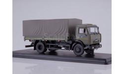 SSM1271 КАМАЗ-43253 бортовой с тентом