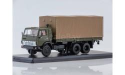 SSM1279 КАМАЗ-53212 бортовой (с тентом)