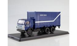 SSM1282 КАМАЗ-53212 с 20-футовым контейнером, Почта России
