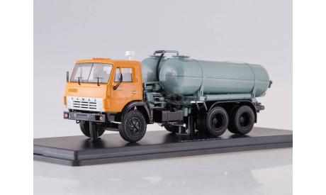 SSM1283 Вакуумная машина КО-505 на шасси КАМАЗ-53213 Нашли в Москве дешевле? Предложите цену!, масштабная модель, 1:43, 1/43, Start Scale Models (SSM)