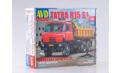 1285AVD Сборная модель Tatra-815S1 (Татра) самосвал, сборная модель автомобиля, 1:43, 1/43, Автомобиль в деталях (by SSM)
